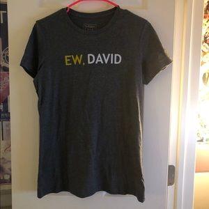 """Schitt's Creek """"Ew, David"""" women's T-shirt"""